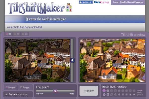 Tilt-Shift-Maker